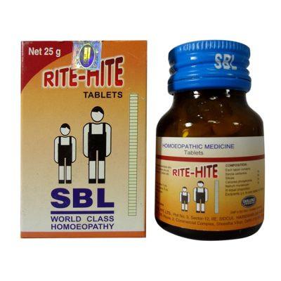 SBL Homeopathy Rite Hite Tablets